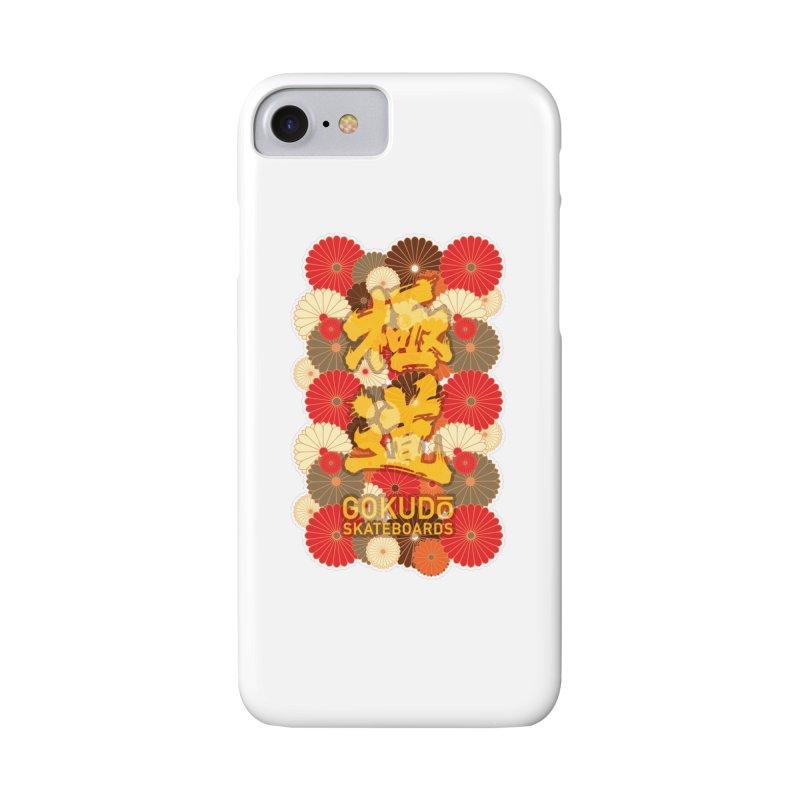 Gokudo Skateboards Fall Flowers Accessories Phone Case by Gokuten