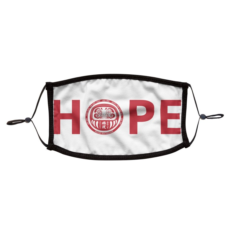 Hope for 2021 Accessories Face Mask by Gokuten