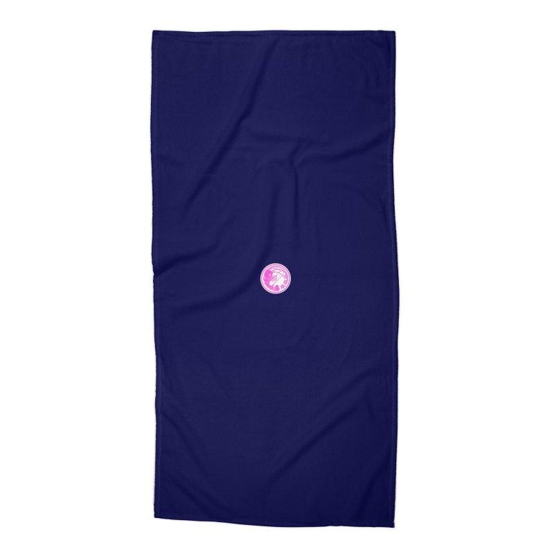 Gokudo Yozakura Logo Accessories Beach Towel by Gokuten
