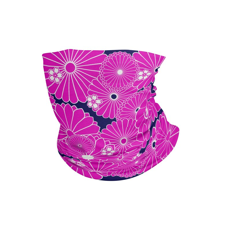 Gokudo Yozakura Mask Accessories Neck Gaiter by Gokuten