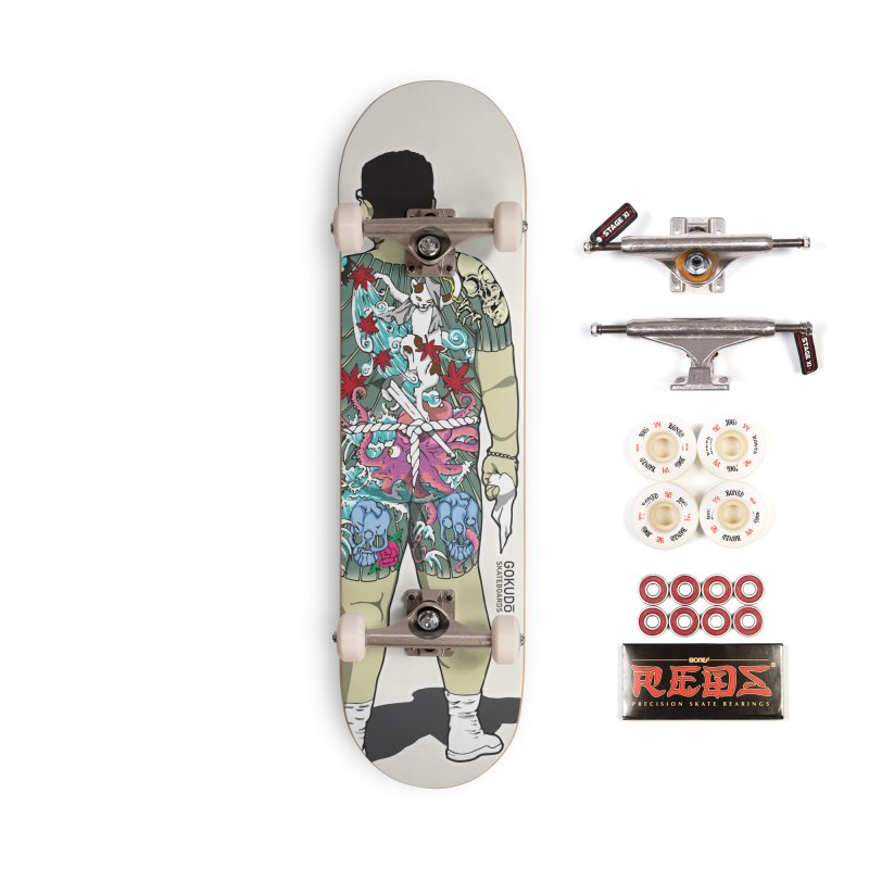 Gokudō [Brother Udagawa] Accountant Deck Accessories Complete - Pro Skateboard by Gokuten