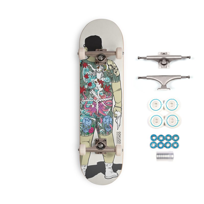 Gokudō [Brother Udagawa] Accountant Deck Accessories Complete - Basic Skateboard by Gokuten