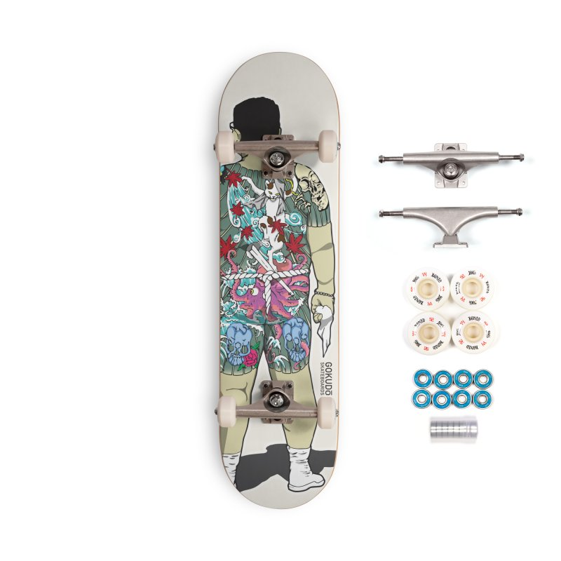 Gokudō [Brother Udagawa] Accountant Deck Accessories Complete - Premium Skateboard by Gokuten