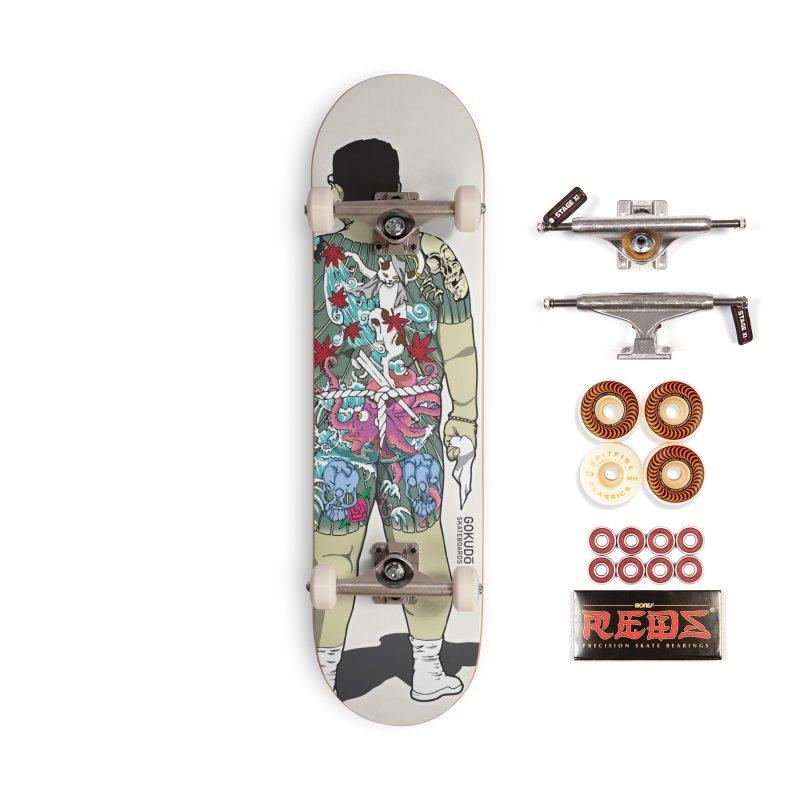 Gokudō [Brother Udagawa] Accountant Deck Accessories Skateboard by Gokuten