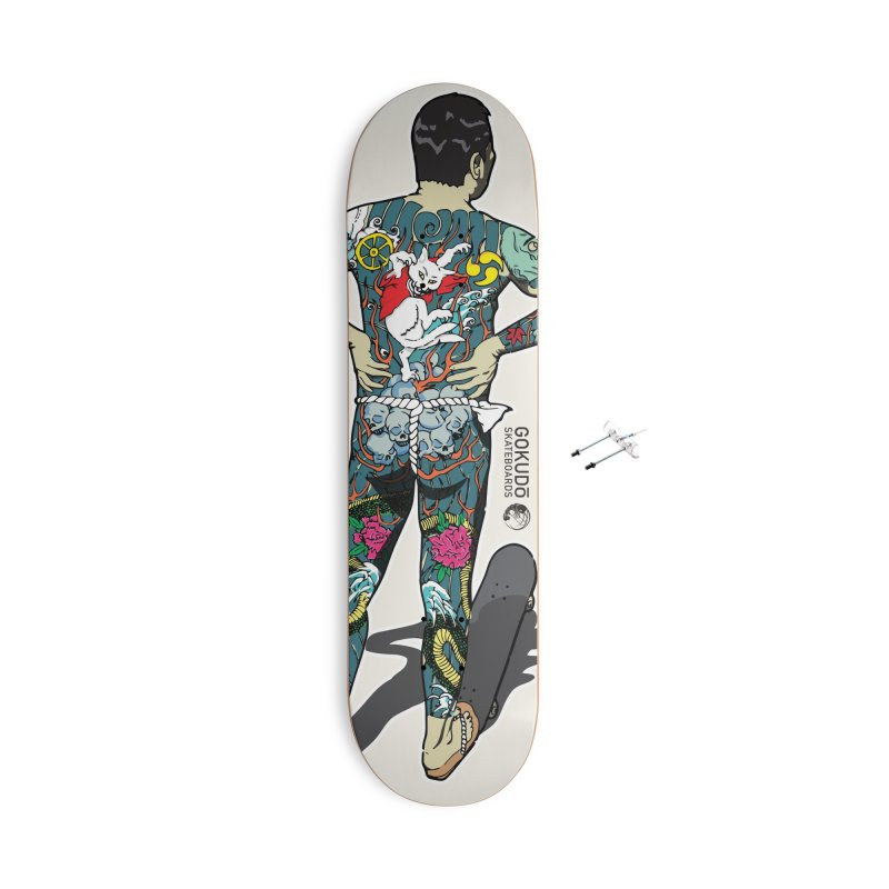 Gokudō [Brother Kawanabe] Enforcer Deck Accessories With Hanging Hardware Skateboard by Gokuten