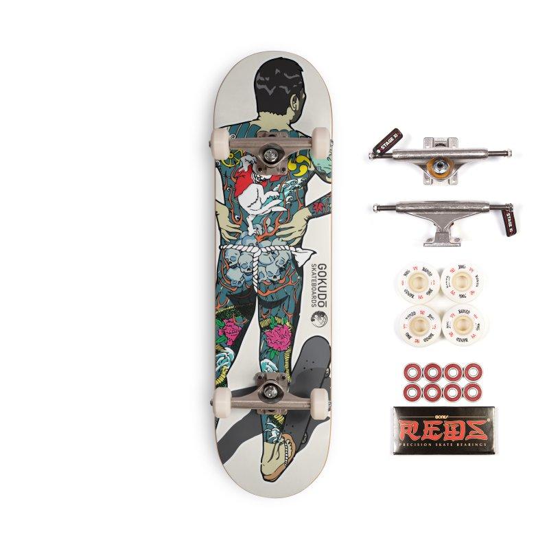 Gokudō [Brother Kawanabe] Enforcer Deck Accessories Complete - Pro Skateboard by Gokuten