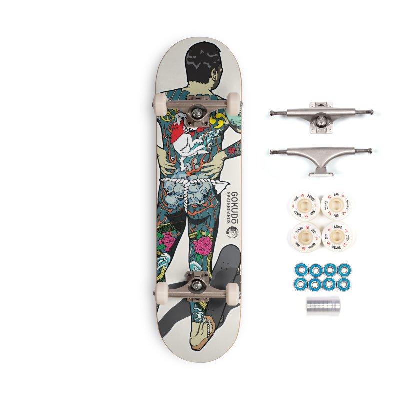 Gokudō [Brother Kawanabe] Enforcer Deck Accessories Complete - Premium Skateboard by Gokuten