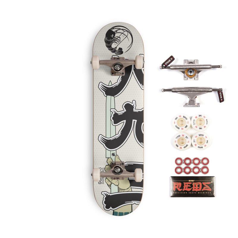 Gokudō [893] Team Deck Accessories Complete - Pro Skateboard by Gokuten