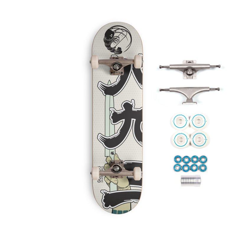 Gokudō [893] Team Deck Accessories Complete - Basic Skateboard by Gokuten
