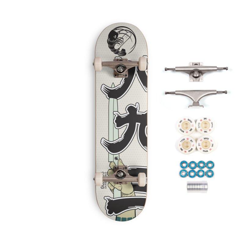 Gokudō [893] Team Deck Accessories Complete - Premium Skateboard by Gokuten
