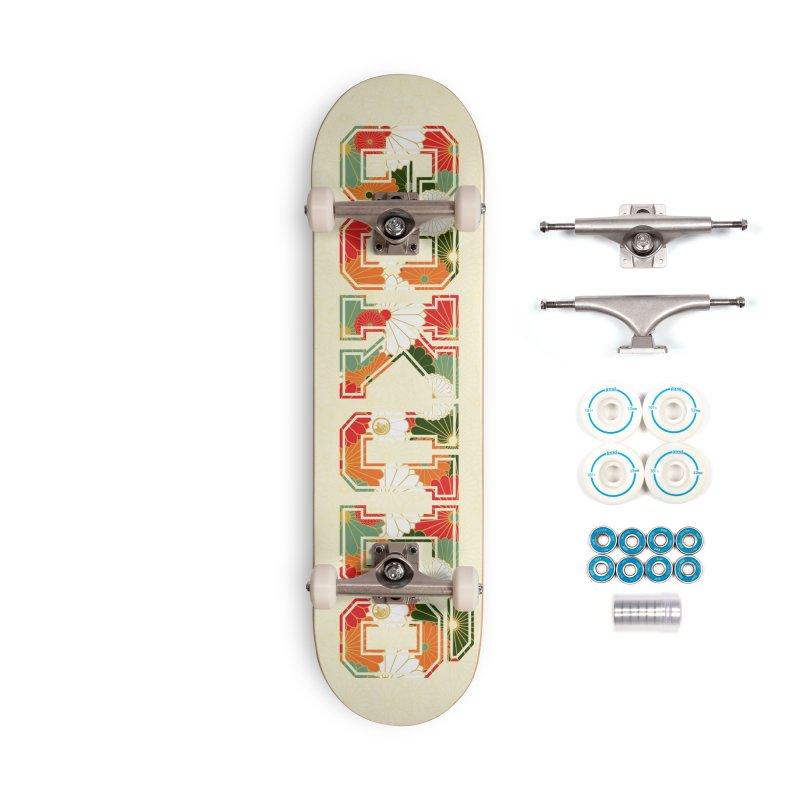 Gokudō Summer Heat Deck Accessories Complete - Basic Skateboard by Gokuten