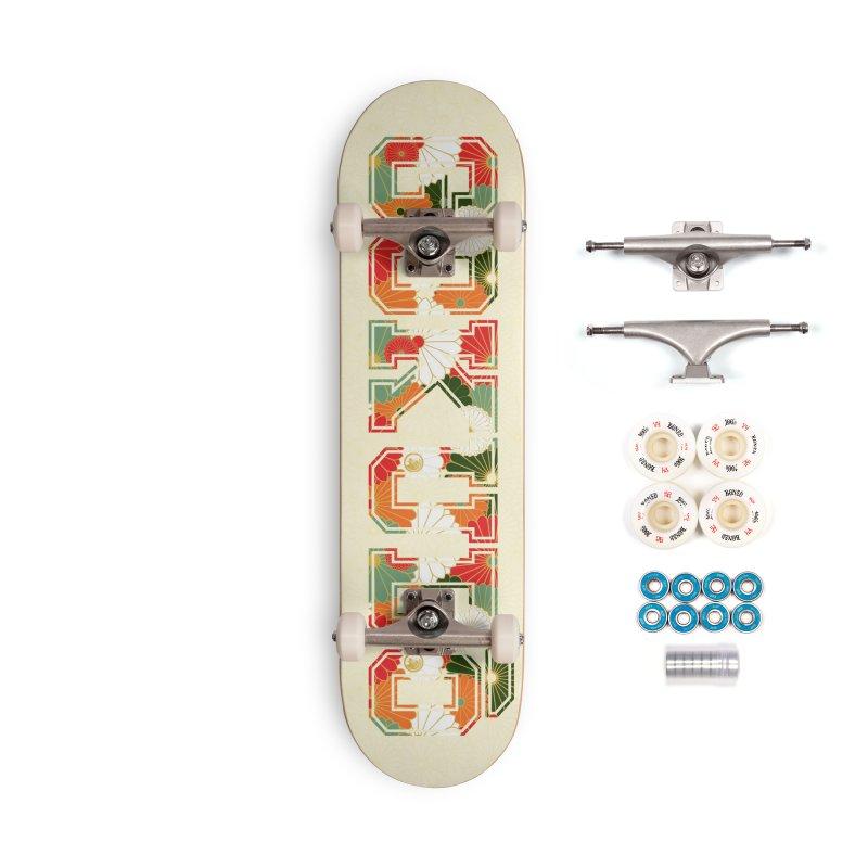 Gokudō Summer Heat Deck Accessories Complete - Premium Skateboard by Gokuten