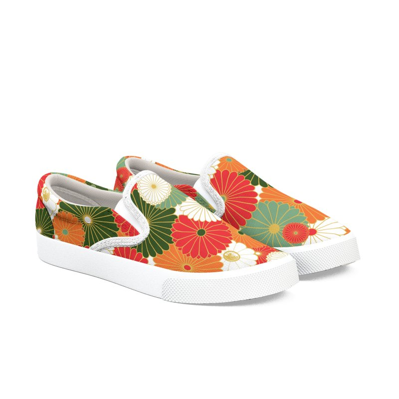 Gokudō Summer Heat Women's Slip-On Shoes by Gokuten