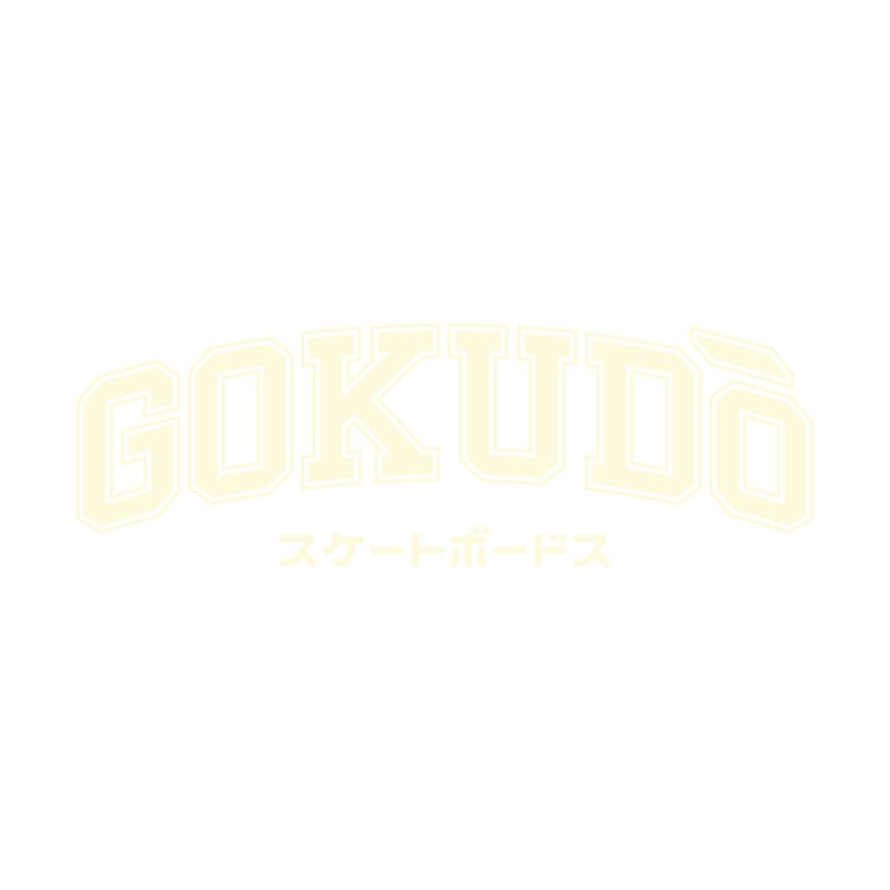Gokudō Varsity Cornsilk Men's T-Shirt by Gokuten