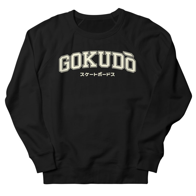 Gokudō Varsity Cornsilk Men's French Terry Sweatshirt by Gokuten