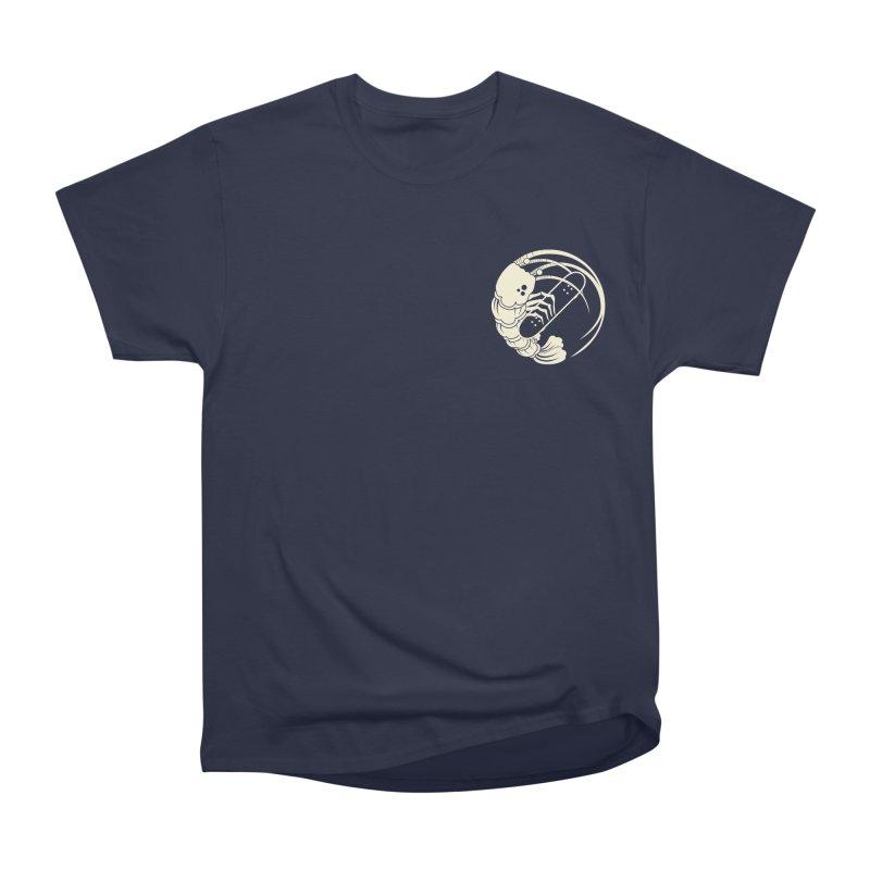 Gokudō Logo Cornsilk in Men's Heavyweight T-Shirt Navy by Gokuten
