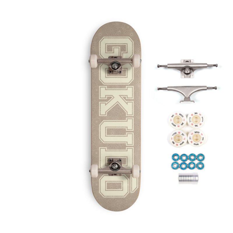 Gokudo Summer Kami Accessories Complete - Premium Skateboard by Gokuten