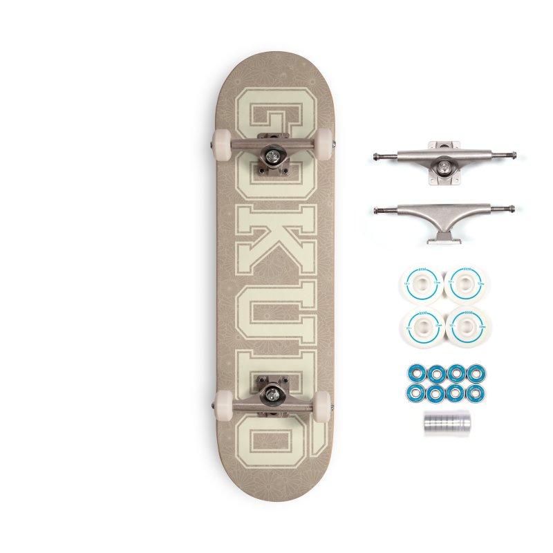 Gokudo Summer Kami Accessories Complete - Basic Skateboard by Gokuten