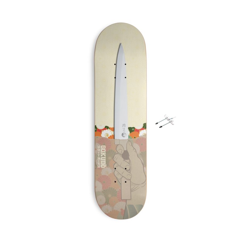 Gokudō Summer Cutter Accessories With Hanging Hardware Skateboard by Gokuten