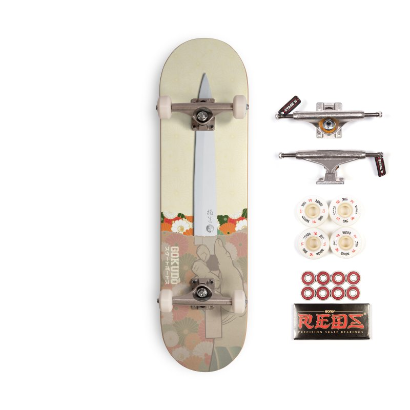 Gokudō Summer Cutter Accessories Complete - Pro Skateboard by Gokuten