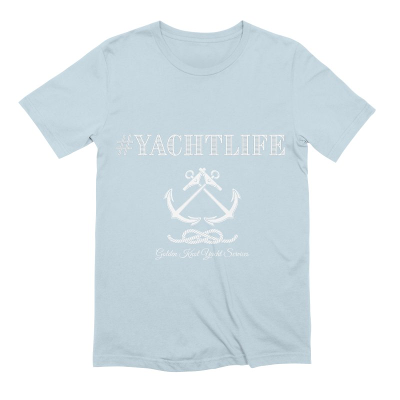 #YachtLife Men's T-Shirt by Golden Knot Yacht Services Swag