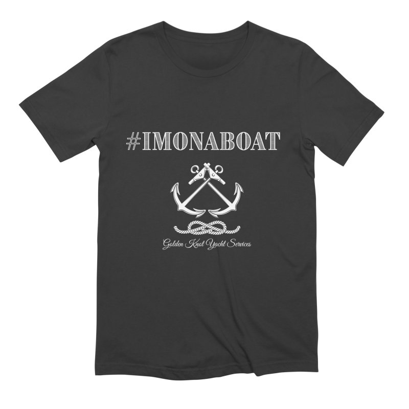 #imonaboat Men's T-Shirt by Golden Knot Yacht Services Swag