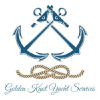 Golden Knot Yacht Services Swag Logo