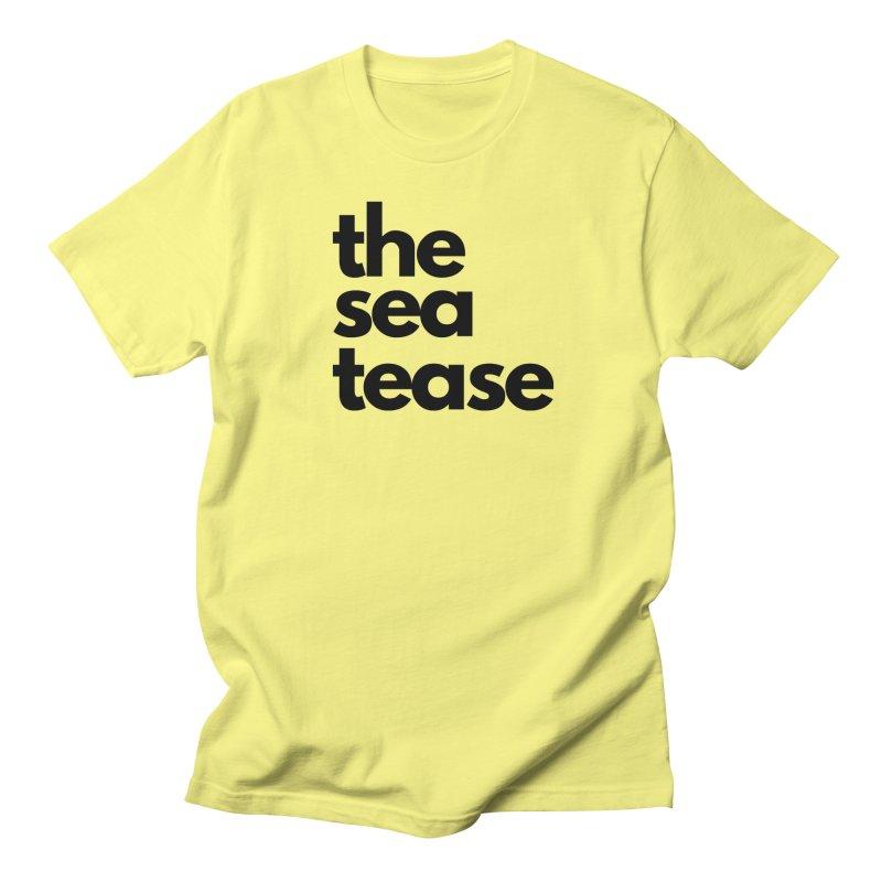 The Sea Tease T-shirt Men's T-Shirt by Golden Poppy Official Merch