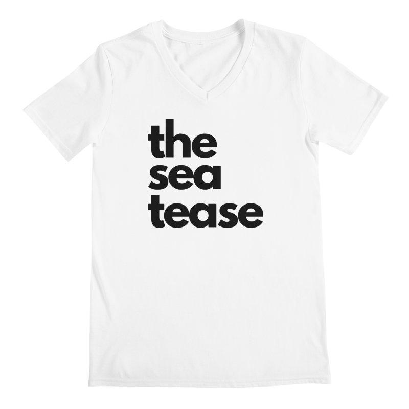 The Sea Tease T-shirt Men's V-Neck by Golden Poppy Official Merch