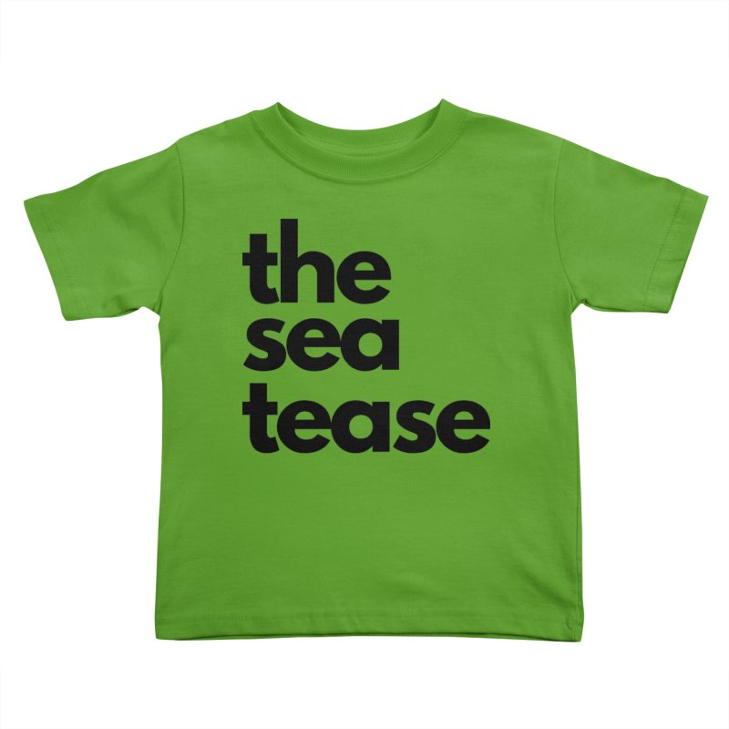 The Sea Tease T-shirt Kids Toddler T-Shirt by Golden Poppy Official Merch