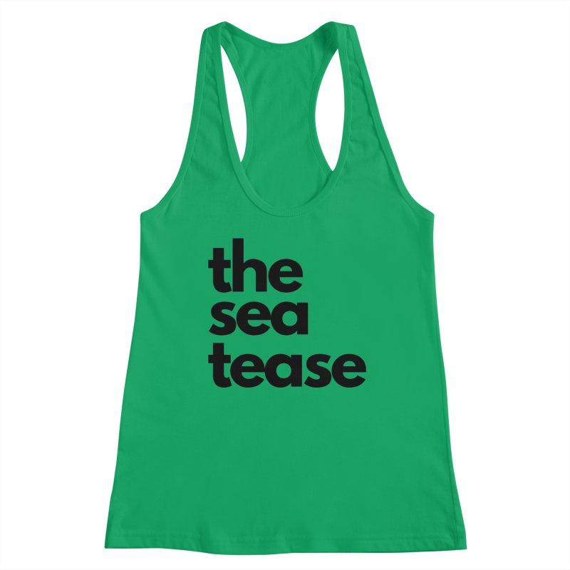 The Sea Tease T-shirt Women's Tank by Golden Poppy Official Merch