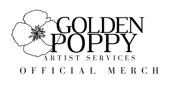 Golden Poppy Official Merch Logo