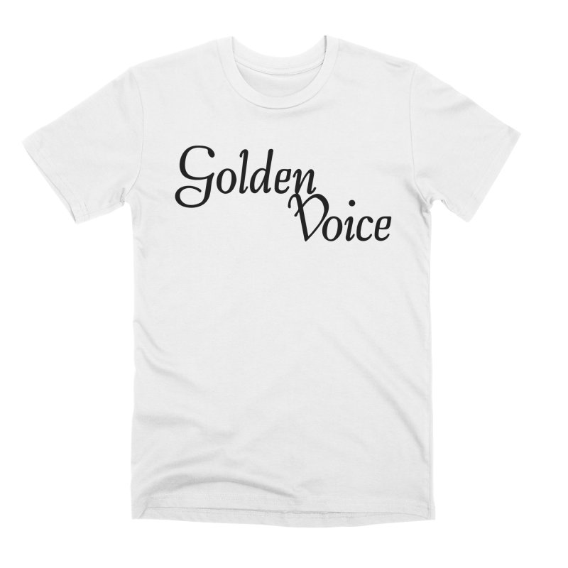 GV Logo Tee Men's T-Shirt by Golden Voice Recording Co.