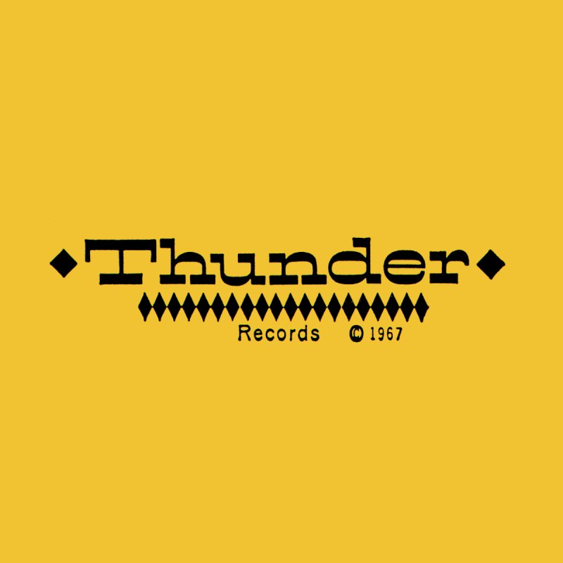 Thunder Records Tee Men's T-Shirt by Golden Voice Recording Co.