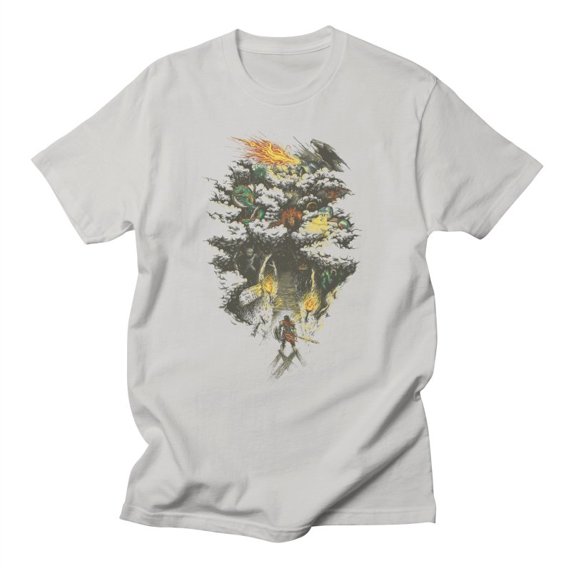 The Road Less Traveled Men's T-Shirt by Goliath72