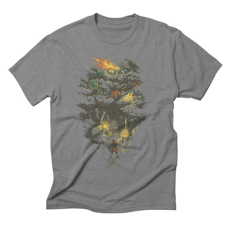 The Road Less Traveled Men's Triblend T-shirt by Goliath72