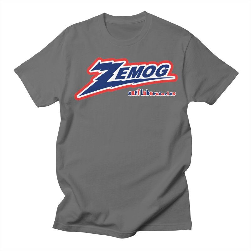 Zemog Surf Laboratories Logo Men's T-Shirt by GomezBueno's Artist Shop