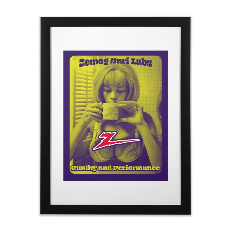 Quality & Performance Home Framed Fine Art Print by GomezBueno's Artist Shop