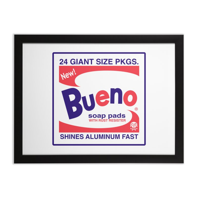 Bueno Box Front Home Framed Fine Art Print by GomezBueno's Artist Shop