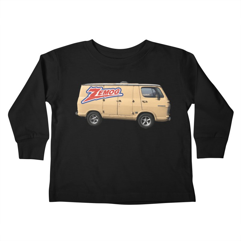 Zemog Van Kids Toddler Longsleeve T-Shirt by GomezBueno's Artist Shop