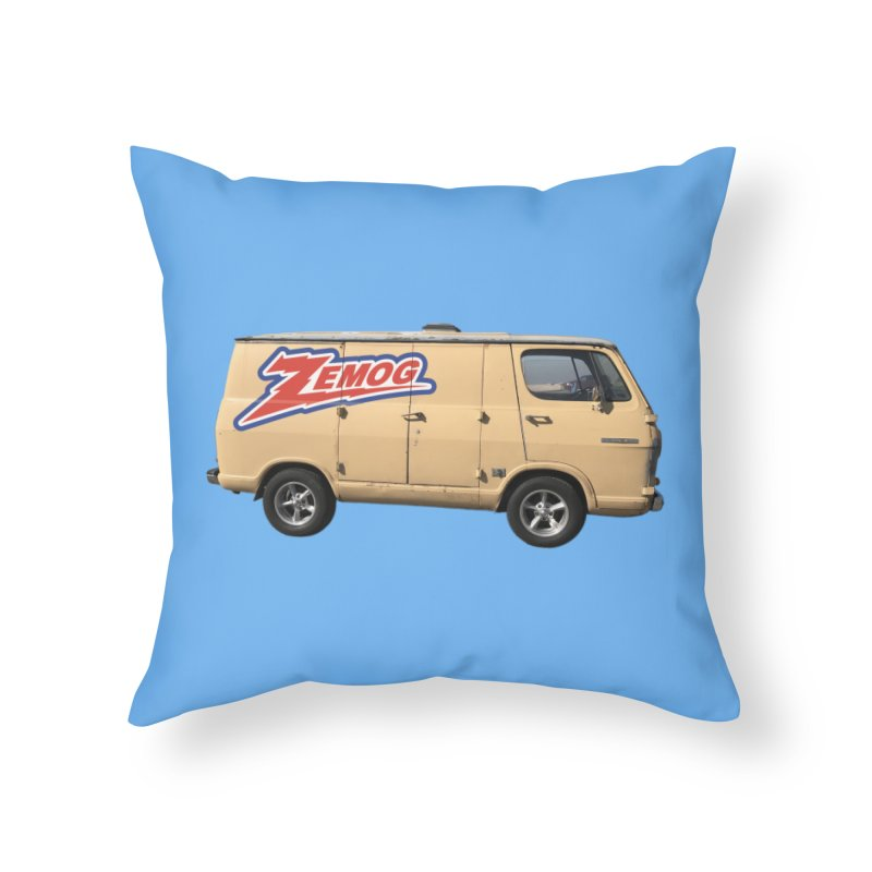Zemog Van Home Throw Pillow by GomezBueno's Artist Shop