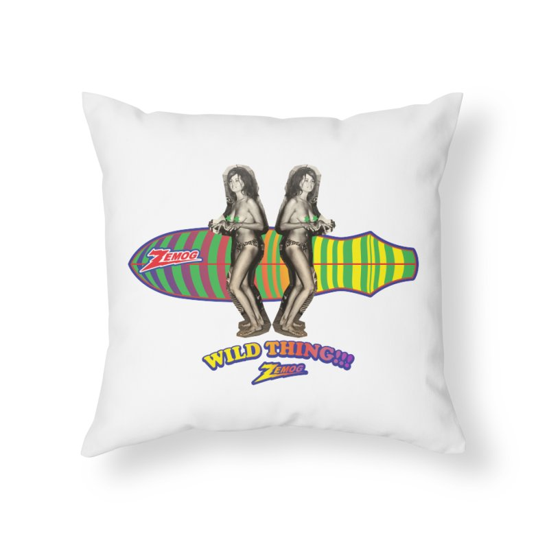 Wild Thing 2 Home Throw Pillow by GomezBueno's Artist Shop