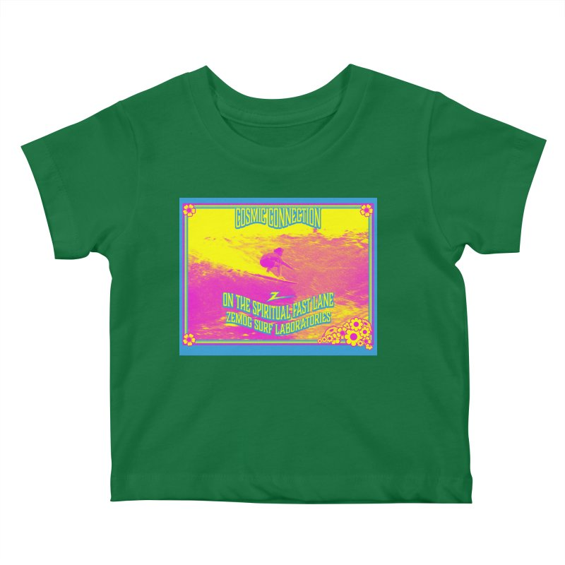 Cosmic Connection Kids Baby T-Shirt by GomezBueno's Artist Shop