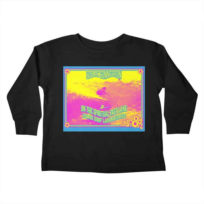 Cosmic Connection Kids Toddler Longsleeve T-Shirt by GomezBueno's Artist Shop