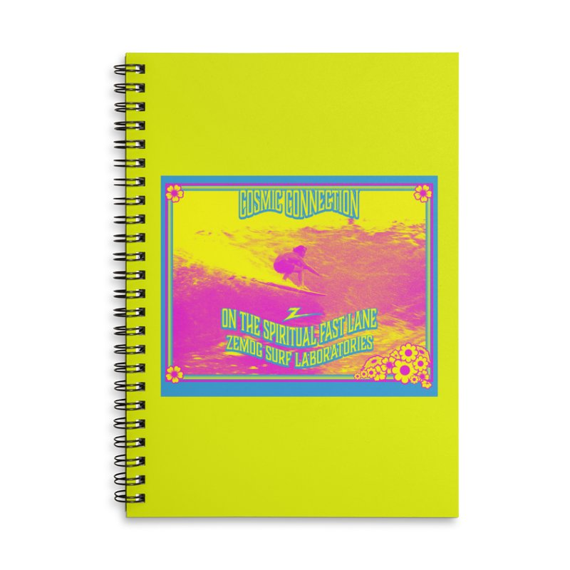 Cosmic Connection Accessories Notebook by GomezBueno's Artist Shop