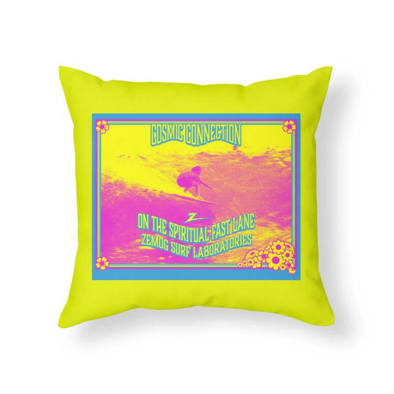 Cosmic Connection Home Throw Pillow by GomezBueno's Artist Shop