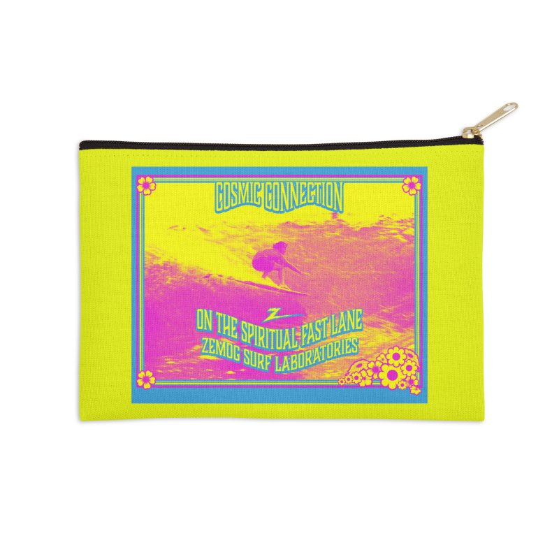 Cosmic Connection Accessories Zip Pouch by GomezBueno's Artist Shop