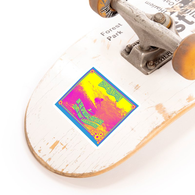 Cosmic Connection Accessories Sticker by GomezBueno's Artist Shop