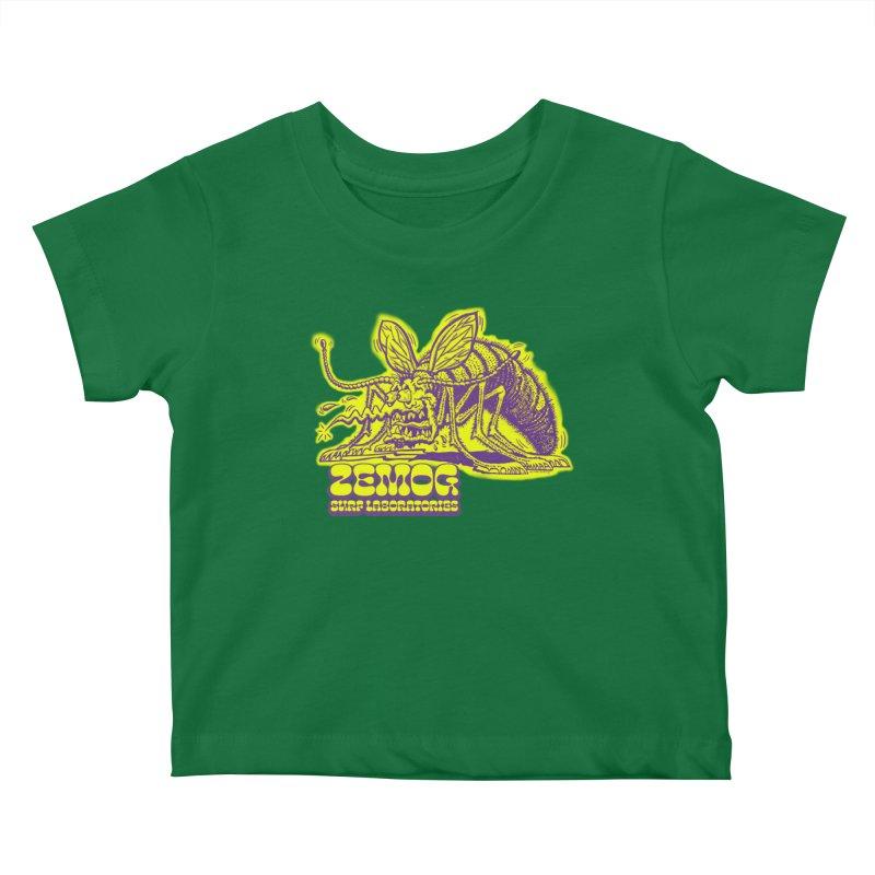 Mosquito Kids Baby T-Shirt by GomezBueno's Artist Shop