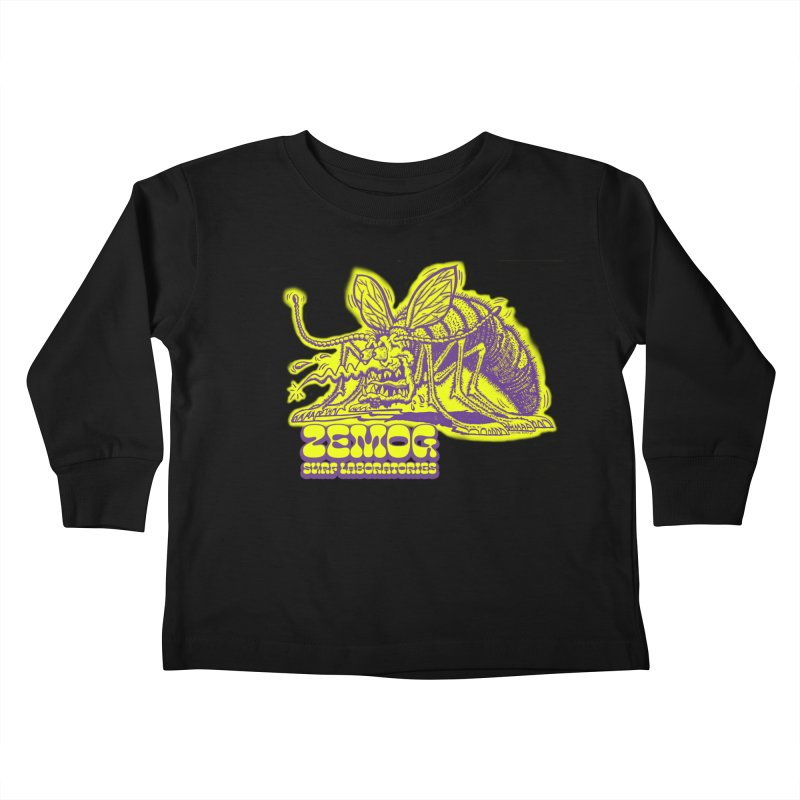 Mosquito Kids Toddler Longsleeve T-Shirt by GomezBueno's Artist Shop